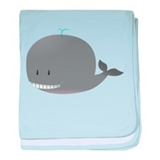 Cute Whale Kids Shirt baby blanket