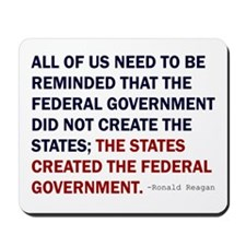Ronald Reagan Quote Mousepad