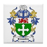 Crumbie Coat of Arms Tile Coaster