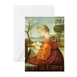 The Lady Reading Greeting Cards (Pk of 10)