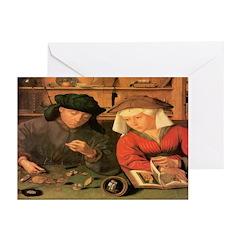 The Moneylenders Greeting Cards (Pk of 10)