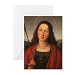 St. Sebastian Greeting Cards (Pk of 10)