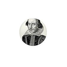 Funny William shakespeare Mini Button