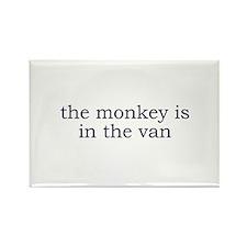 My Monkey Rectangle Magnet