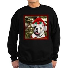 Christmas bulldog Sweatshirt