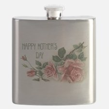 Mothers Day Roses Flask