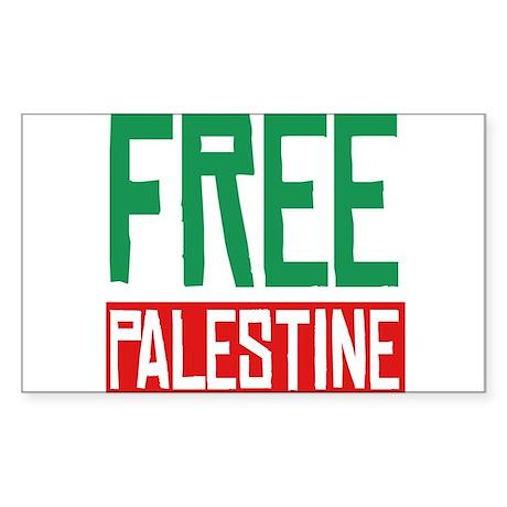 Free Palestine ????? ?????? Sticker (Rectangle)