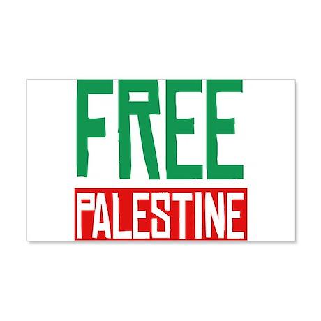 Free Palestine ????? ?????? 20x12 Wall Decal