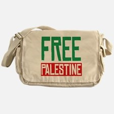 Free Palestine ????? ?????? Messenger Bag