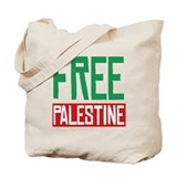 Free palestine Bags & Totes
