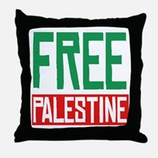 Free Palestine ????? ?????? Throw Pillow