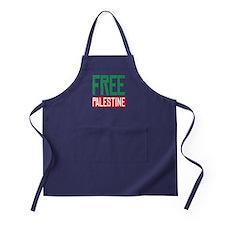 Free Palestine ????? ?????? Apron (dark)