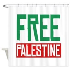 Free Palestine ????? ?????? Shower Curtain