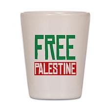Free Palestine ????? ?????? Shot Glass