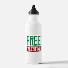 Free Palestine ????? ?????? Water Bottle