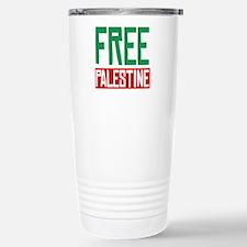 Free Palestine ????? ?????? Stainless Steel Travel