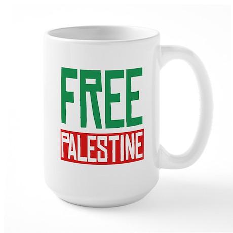 Free Palestine ????? ?????? Large Mug