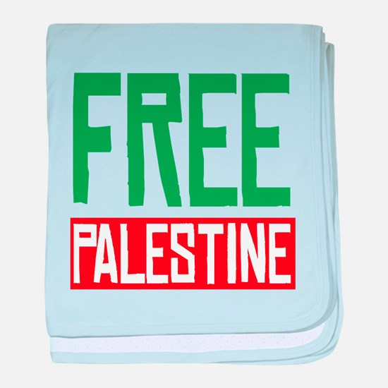 Free Palestine ????? ?????? baby blanket