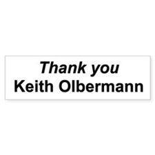 Thank you Keith Olbermann