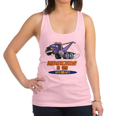 Hookers R Us 2 Racerback Tank Top