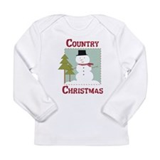 Country Christmas Long Sleeve Infant T-Shirt