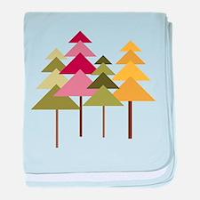 Pine Street baby blanket
