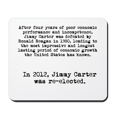Jimmy Carter Re-elected in 2012 Anti-Obama shirt M