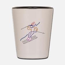 skiing.jpg Shot Glass