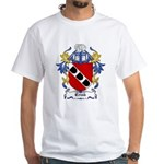 Crink Coat of Arms White T-Shirt