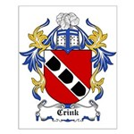 Crink Coat of Arms Small Poster