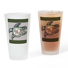 Turtle design Drinking Glass