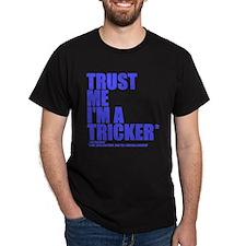 Trust Me I'M A TRICKER NEON BLUE
