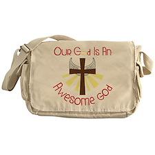 An Awesome God Messenger Bag