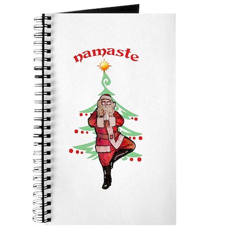Santa Tree Pose Journal