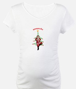 Santa Tree Pose Shirt