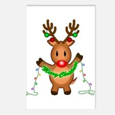 Merry Deer Postcards (Package of 8)