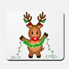 Merry Deer Mousepad