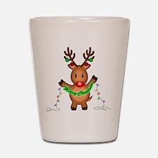 Merry Deer Shot Glass