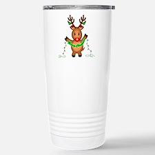 Merry Deer Stainless Steel Travel Mug