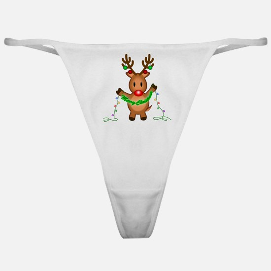 Merry Deer Classic Thong