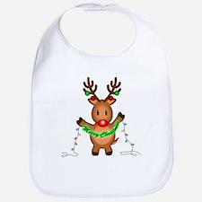 Merry Deer Bib