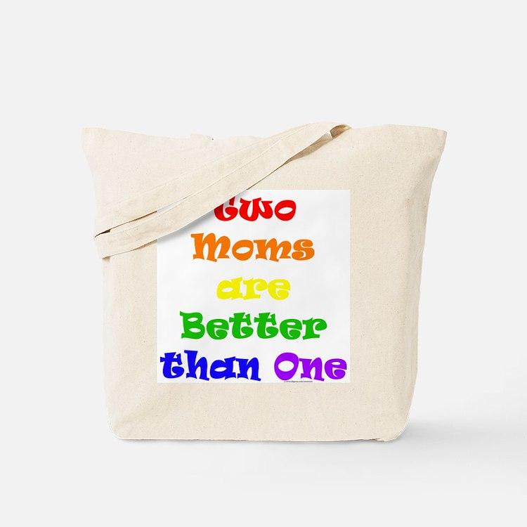 Two Moms Tote Bag