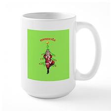 Santa Tree Pose Mug