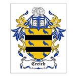 Creich Coat of Arms Small Poster