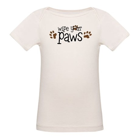 Wipe Your Paws Organic Baby T-Shirt