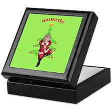 Santa Tree Pose Keepsake Box