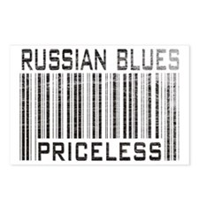 Russian Blues Priceless Postcards (Package of 8)