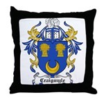 Craigmyle Coat of Arms Throw Pillow