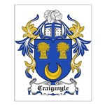Craigmyle Coat of Arms Small Poster