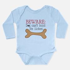 Beware Long Sleeve Infant Bodysuit